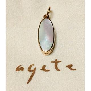 agete - アガット リバーシブルチャーム