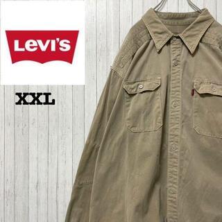 Levi's - Levi's リーバイス コットンシャツ ビッグサイズ レッドタブ 肉厚 XXL