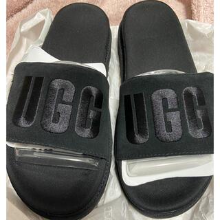 UGG - 新品未使用 UGG ロゴサンダル 24.5〜25cm