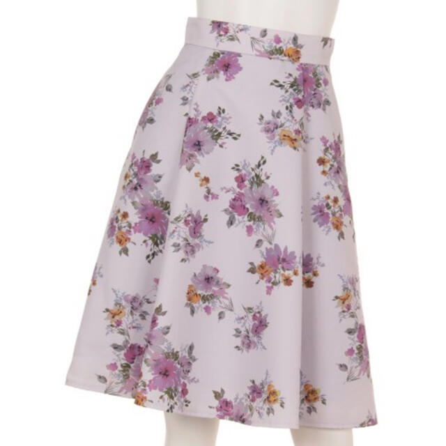Apuweiser-riche(アプワイザーリッシェ)のアプワイザーリッシェ♡レディブーケフレアスカートM レディースのスカート(ひざ丈スカート)の商品写真