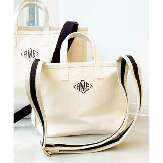 L'Appartement DEUXIEME CLASSE - AME Tote Bag Mini ネイビー