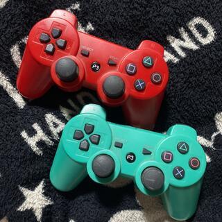 プレイステーション3(PlayStation3)のPS3 コントローラー Bluetooth ワイヤレス 互換性 2個セット(その他)