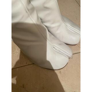 Maison Martin Margiela - マルジェラ 足袋 tabi ブーツ ホワイト 38 margiela