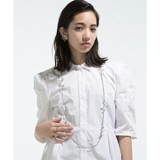 ANREALAGE - 定価¥52,000 16AW アンリアレイジ 銅製 変形ネックレス ノイズ期