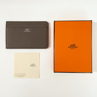 Hermes - 国内購入 新品 HERMES エルメス カードケース シティ CITY エタン
