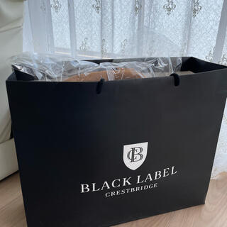 BURBERRY BLACK LABEL - black label バック