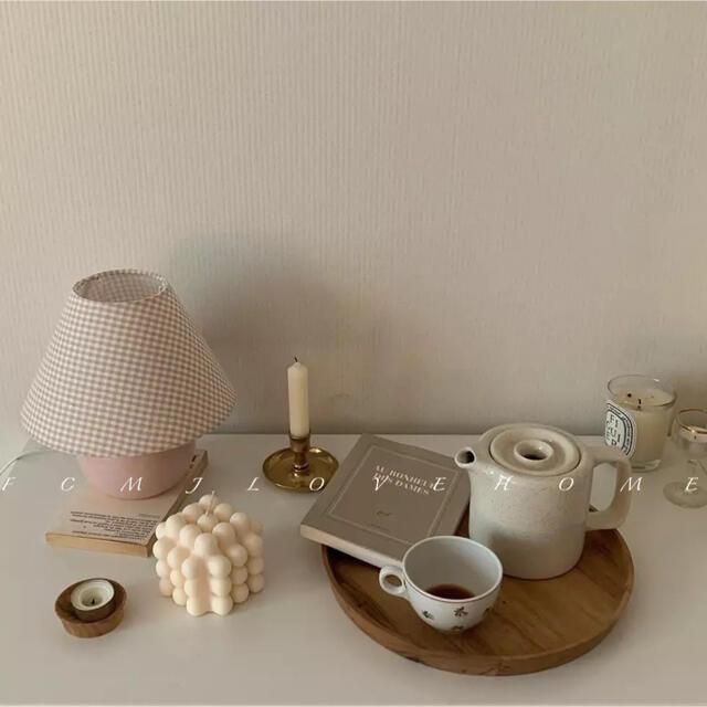【最安値】ボンボンキャンドル シリコンモールド 型 韓国 キャンドル 送料無料 ハンドメイドのインテリア/家具(アロマ/キャンドル)の商品写真