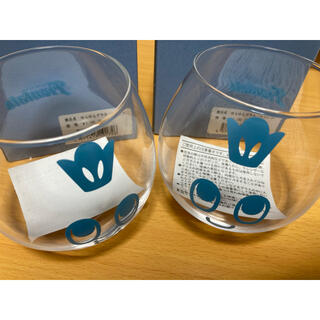 ※梱包方法要必読 新品未使用 川崎フロンターレ ゆらゆらグラス(カブレラ) 2個