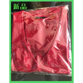 エモダ(EMODA)の【早い者勝ち・新品・FREEサイズ】EMODA ポケットインカーデ(RED)(カーディガン)