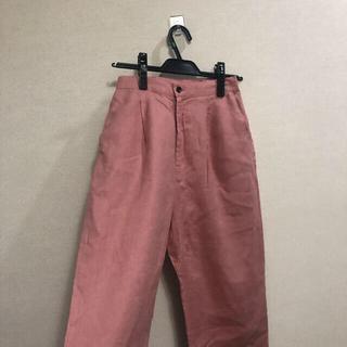 niko and... - カラー パンツ スラックス ワイドパンツ ピンク
