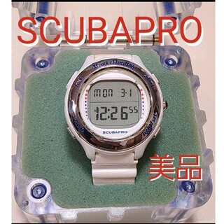 スキューバプロ(SCUBAPRO)のスキューバプロ エクステンダー クワトロ ダイブコンピューターダイビングクアトロ(マリン/スイミング)