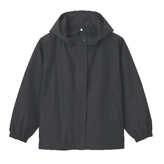 MUJI (無印良品) - ■新品■ 無印良品 撥水フードジャケット/黒/M~L