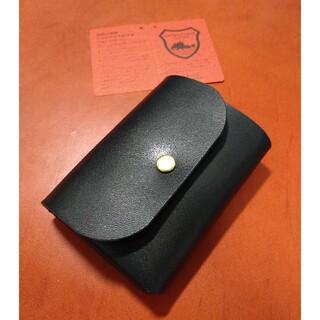 栃木レザー - 栃木レザー 総手縫い コンパクト ウォレット ミニ財布 ミニマル ミニマム 財布