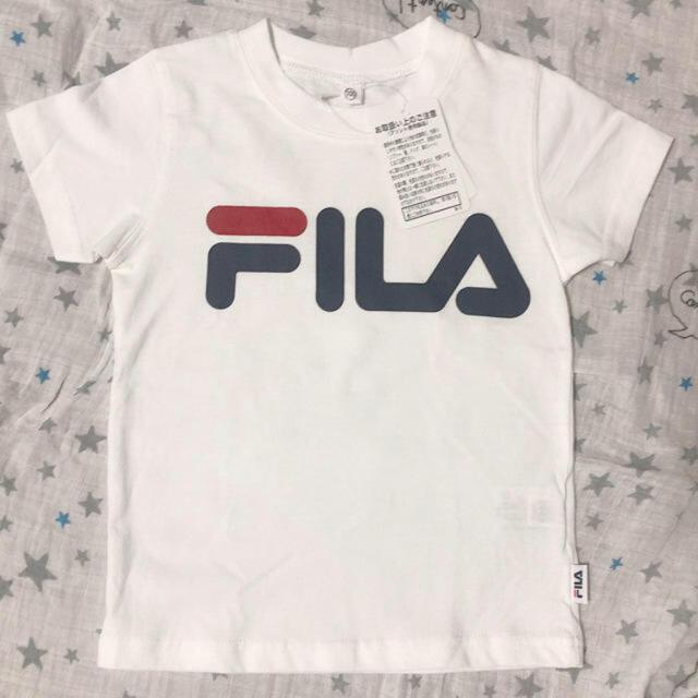 FILA(フィラ)のフィラ新品Tシャツ キッズ/ベビー/マタニティのキッズ服男の子用(90cm~)(Tシャツ/カットソー)の商品写真