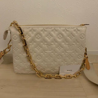 LOUIS VUITTON - 正規品 ルイヴィトン クッサンPM クレーム