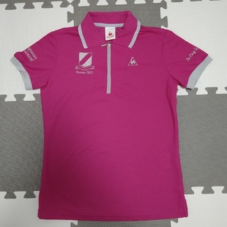 ルコックスポルティフ(le coq sportif)の売れました☆ルコック ゴルフウェア レディース ポロシャツ S 新品(ポロシャツ)