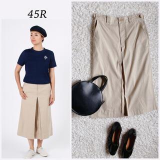 45rpm - 45R 美品|丈夫なオックスフォードストレッチスカート