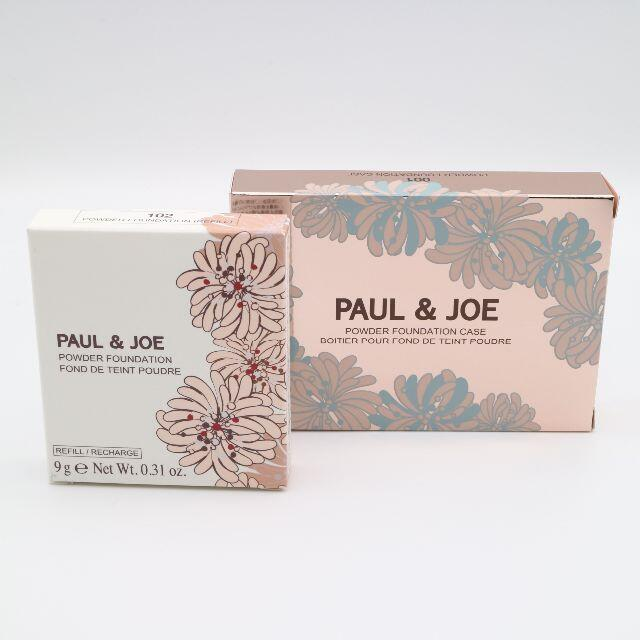 PAUL & JOE(ポールアンドジョー)のポール&ジョー ヴェール ファンデーション 102&ケース001 未使用品 コスメ/美容のベースメイク/化粧品(ファンデーション)の商品写真