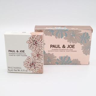 PAUL & JOE - ポール&ジョー ヴェール ファンデーション 102&ケース001 未使用品
