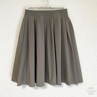 エムプルミエ(M-premier)の美品 M-PREMIER ふんわりスカート 38(ひざ丈スカート)
