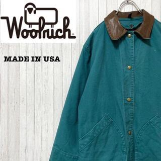 WOOLRICH - ウールリッチ USA製 インナー付き ハンティングジャケット 古着女子 S
