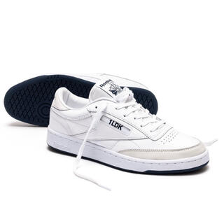 1LDK SELECT - 1LDK x Reebok CLUB C 85 WHITE/NAVY 26CM