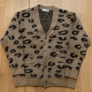 UNUSED - TTT_MSW mohair cardigan leopard サイズL