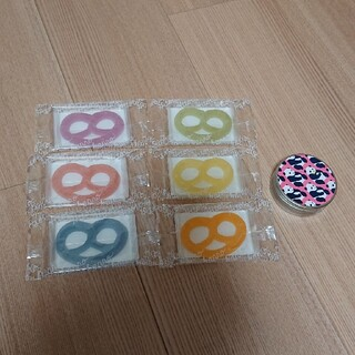 ヒトツブカンロ グミッツェル 6個 フルーティアロマのど飴 パンダ カンロ缶(菓子/デザート)