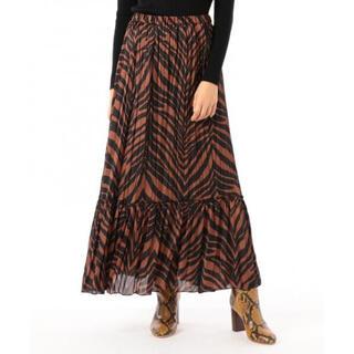 GRACE CONTINENTAL - ゼブラプリントスカート