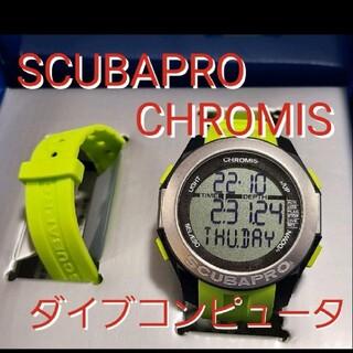 スキューバプロ(SCUBAPRO)の美品 スキューバプロ クロミス ダイブコンピューター スキューバ ダイビング(マリン/スイミング)