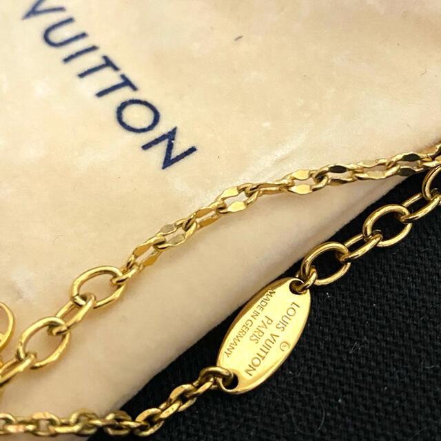 LOUIS VUITTON(ルイヴィトン)のラスト破格 ルイヴィトン コリエ ブルーミングストラス ネックレス レディースのアクセサリー(ネックレス)の商品写真