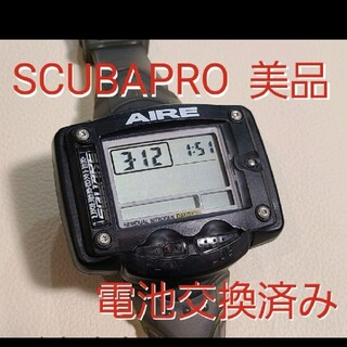スキューバプロ(SCUBAPRO)のスキューバプロ ダイブコンピューター スキューバダイビングダイコン AIRE(マリン/スイミング)