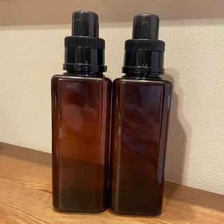 カインズ ランドリーボトル ブラウン 2本 600㎖(洗剤/柔軟剤)
