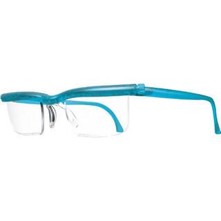 【新品】ドゥーアクティブ 老眼鏡 シニアグラス 度数調節 UVカット エメラルド
