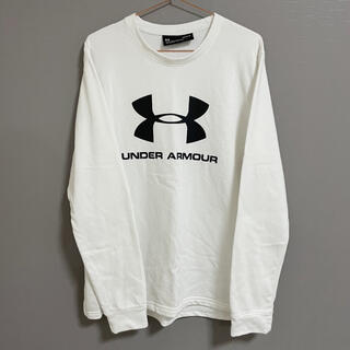 UNDER ARMOUR - under armour⚾️ビッグロゴ クルーネック