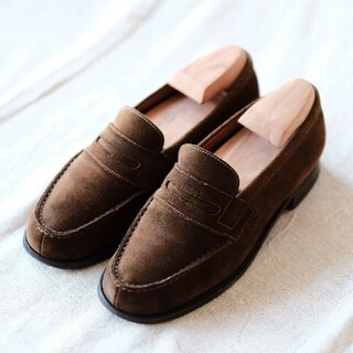 ジェーエムウエストン(J.M. WESTON)のJ.M WESTON ジェイエムウエストン スエードローファー3 1/2D(ローファー/革靴)