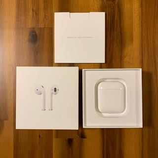 Apple - Apple AirPods (第2世代)  ワイヤレスイヤホン ケーブルなし
