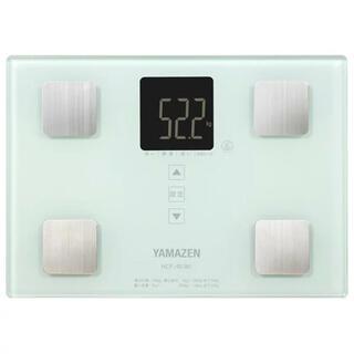 ヤマゼン(山善)の山善 体重体組成計 ホワイト 説明書付き(体重計/体脂肪計)