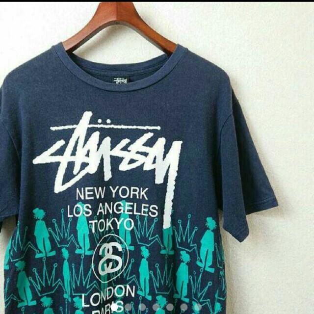 STUSSY(ステューシー)の激レア STUSSY Tシャツ メンズのトップス(Tシャツ/カットソー(半袖/袖なし))の商品写真