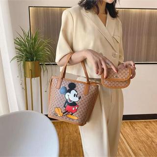 ミッキーマウス - 【新品未使用】ミッキー トートバッグ ポーチ付き
