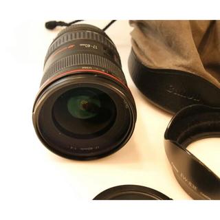 Canon - Canon EF17-40mm F4L USM 広角ズームレンズ