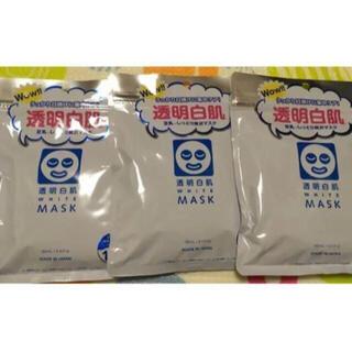 イシザワケンキュウジョ(石澤研究所)の新品 透明白肌 ホワイトマスクN 10枚入り 3袋(パック/フェイスマスク)