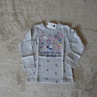 ダブルビー(DOUBLE.B)の未使用タグ付き⭐ミキハウス ダブルビー ツアーロンT 110(Tシャツ/カットソー)