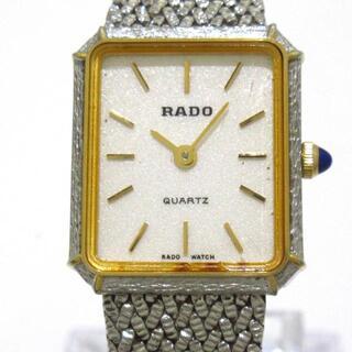 ラドー(RADO)のRADO(ラドー) 133.9578.4 レディース 白(腕時計)