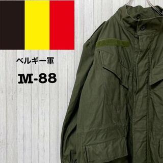 ベルギー軍 M-88 SEYNTEX社 ミリタリーコート フィールドジャケット