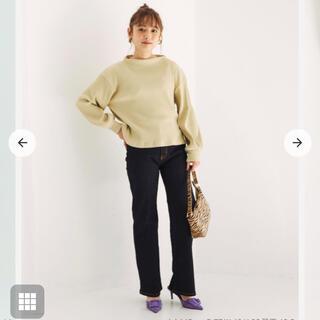 cohina ブーツカットデニム short