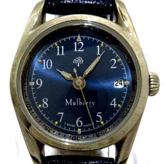 マルベリー(Mulberry)のマルベリー - レディース ダークネイビー(腕時計)