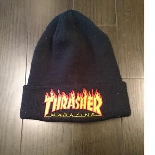 スラッシャー(THRASHER)のスラッシャー  ニット帽  ブラック(ニット帽/ビーニー)
