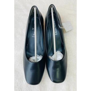 ◉Romeo Valentino パンプス 24.5cm 黒◉
