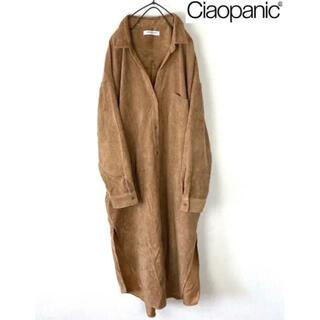 Ciaopanic - チャオパニック シャツワンピース レディース ロングワンピース